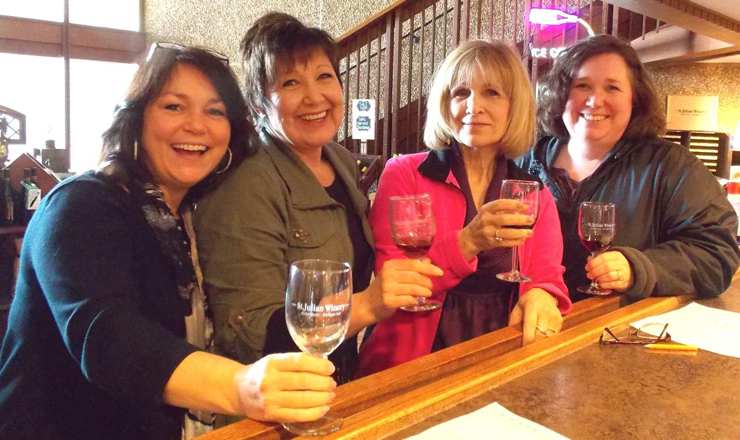 Girls at winery Michigan Feb 2016 copy